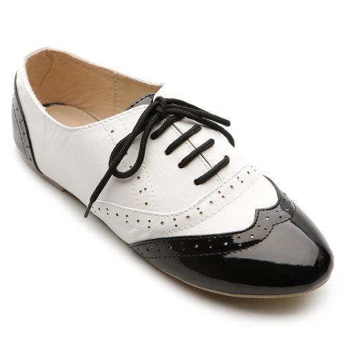 oxfords lace up and classic dresses on