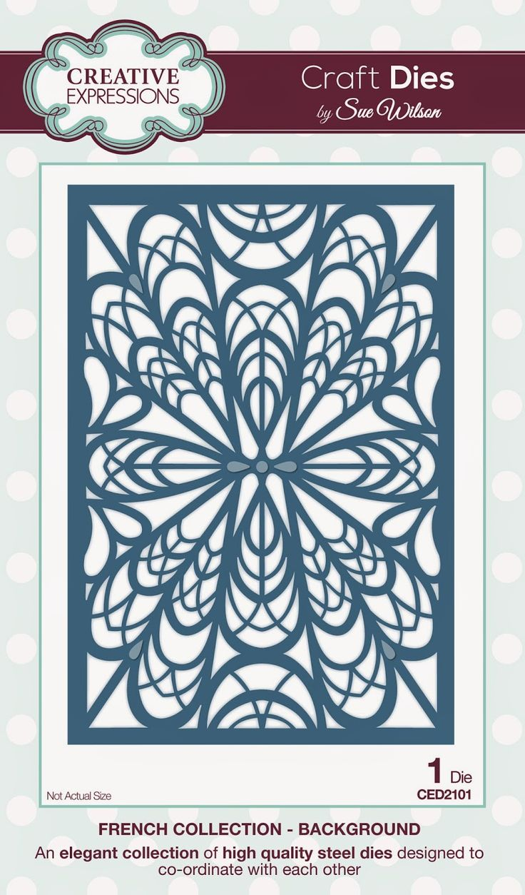 PartiCraft (Participate In Craft): French Collection (Background and Corner, Border & Tag)