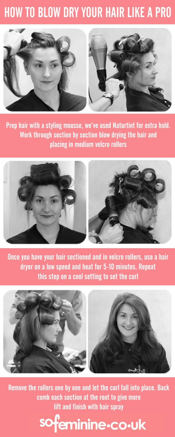 Big, Bouncy, Bouffant! How To Blow Dry Hair Like A Pro