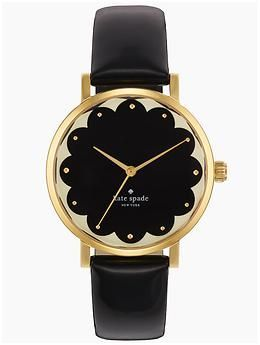 Kate Spade New York Black Scallop Metro | Piperlime