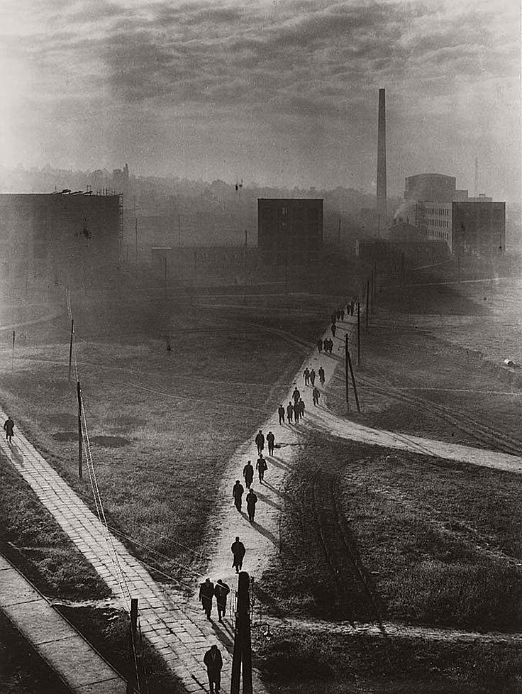 Factory by Ernö Vadas, Budapest 1955