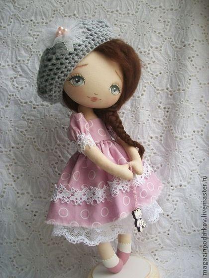 Коллекционные куклы ручной работы. Ярмарка Мастеров - ручная работа Кукла Инесса. Handmade.