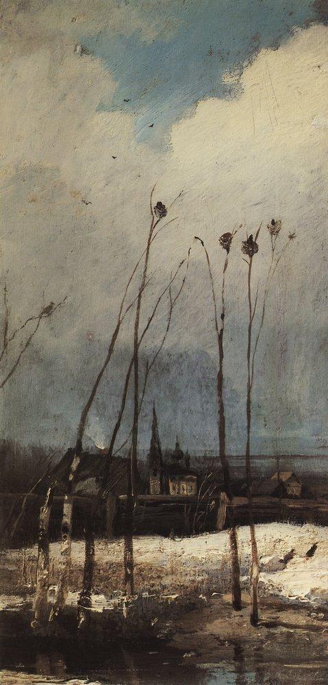 Грачи прилетели. 1880-е