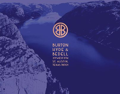 """Check out new work on my @Behance portfolio: """"Burton, Hyde & Bedell — Brand Identity"""" http://be.net/gallery/35151607/Burton-Hyde-Bedell-Brand-Identity"""