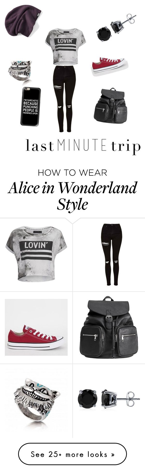 """""""Untitled #12"""" by mekenzifaith on Polyvore featuring Religion Clothing, Topshop, H&M, Casetify, BERRICLE and Converse"""