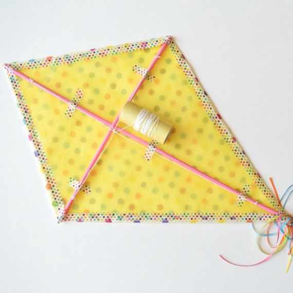 How to Make a Kite Out of Paper – BambiniWare