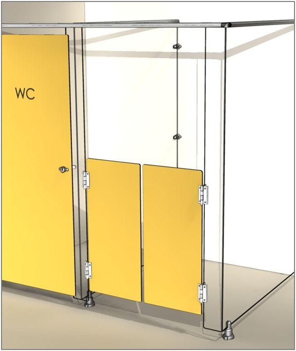 Cabineo : porte western pour sanitaire