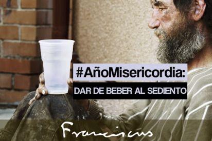 obras de la #misericordia, preparando el año santo con papa #Francisco: dar de beber alsediento