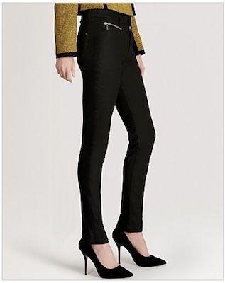 Karen Miller Jeans – Coated Black