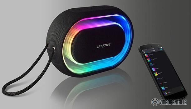 Halo el nuevo altavoz portátil Bluetooth de Creative  Creative lanza su nuevo producto: Altavoz portátil Bluetooth con un show de 16.8 millones de colores. El altavoz de estética futurística Creative Halo ofrece un audio impactante. Cuenta con un show de luces que bailan con la música y que puedes controlar con la app dedicada.  En primer lugar tiene un diseño novedoso redondeado y un panel frontal con iluminación LED. Podemos elegir entre 12 secuencias de efectos de luz que se pueden…
