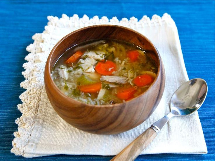 Rotisserie Chicken Rice Soup