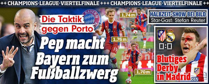 #Atletico vs #Real 0:0+blutig http://www.bild.de/sport/fussball/champions-league-viertelfinale/blutige-nullnummer-in-madrid-40546840.bild.html … Pep macht @FCBayern zum Fußball-Zwerg lol http://www.bild.de/sport/fussball/guardiola/macht-bayern-zum-fussball-zwerg-40544866.bild.html