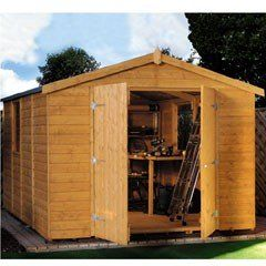 Large Wooden Sheds Sale | Fast Delivery | Greenfingers.com
