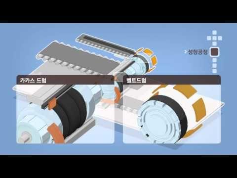한국타이어_Motion Graphic Brochure Tire Manufacturing Process (제조공정) Korean