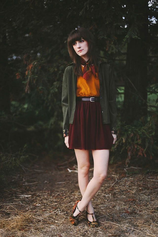 Love the autumn colors from Finch & Fawn.