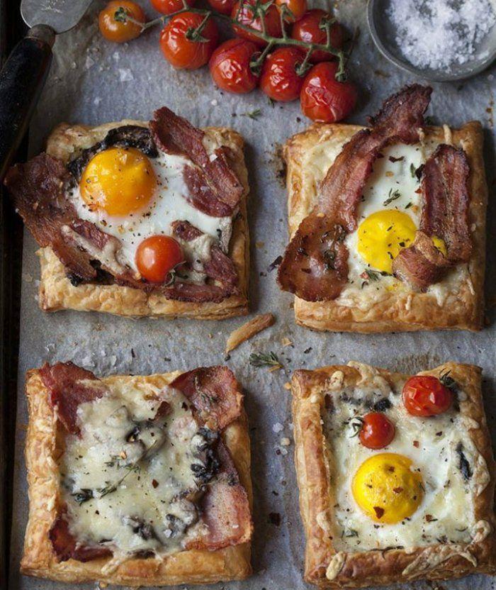 1000 Id Es Propos De Petit D Jeuner Au Bacon Sur