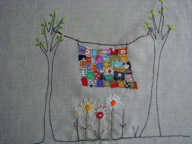 Rainbow quilt WIP | Flickr - Photo Sharing!