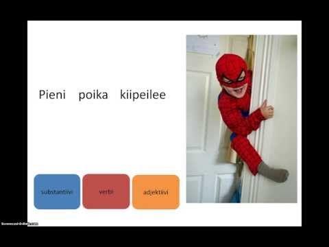 Suomen kieli, sanaluokat