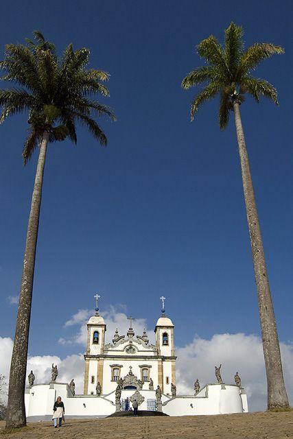 Santuário. Congonhas, MG, Brasil (Sanctuary. Congonhas, Minas Gerais, Brazil)