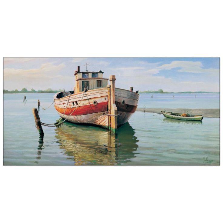 Galasso - Trabaccolo 100x50 cm #artprints #interior #design #art #prints  Scopri Descrizione e Prezzo http://www.artopweb.com/categorie/panorami-e-citta/EC21987