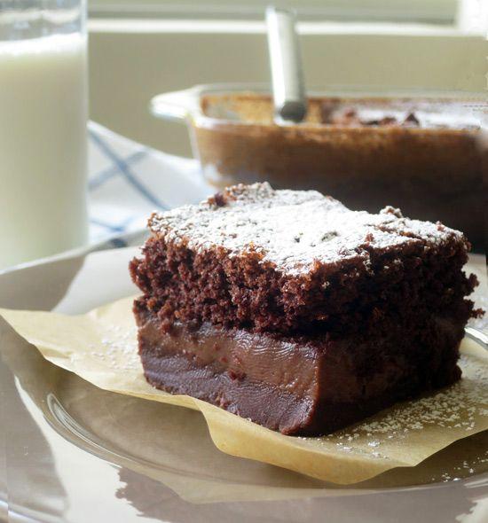 Μαγικό κέικ σοκολάτας