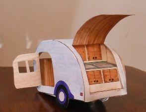 Printable Template - Teardrop TrailerTeardrop Campers, Printables Trailers, Printables Templates, Paper Teardrop, Teardrop Trailers, Models Teardrop, Teardrop Caravan, Free Printables, Diy Printables
