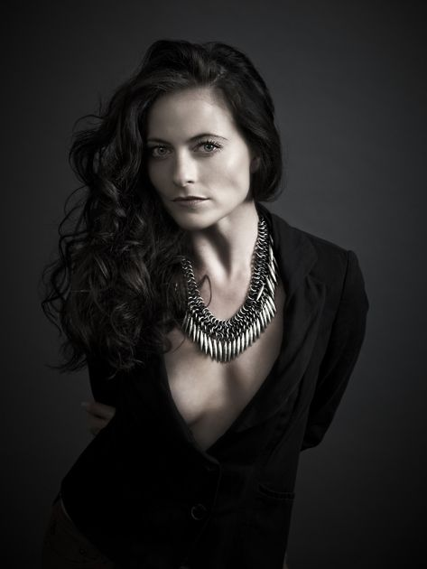 Lara Pulver in Fashion Esque GQ Mag  24/03/2014 (photographer Andy Gotts)