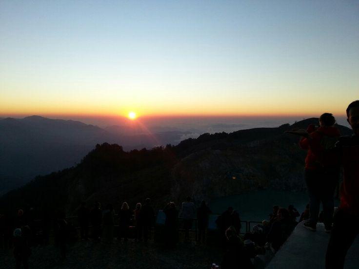 First sunrise in September