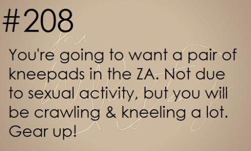 Zombie Apocalypse Survival Tip #208