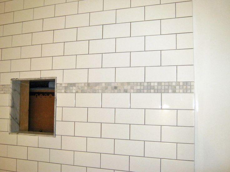 Shower Stall Wall Tile 3x6 White Subway Mini Carrara