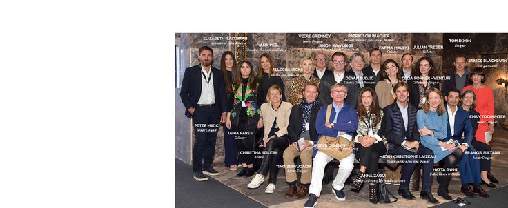 PAD LONDON PRICE JURY 2016 The Moët Hennessy-PAD London Jury under President Jasper Conran and Honorary Presidents Yana Peel, Joy Henderiks, Nigel Coates, Christophe Navarre, is composed of luminaries from the worlds of design, art, fashion, business and communication.