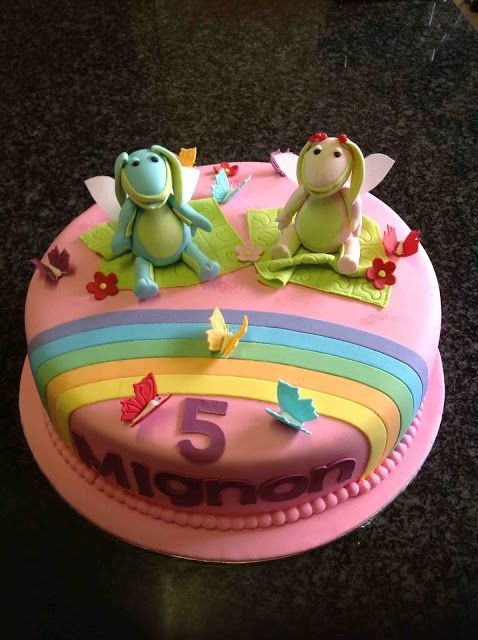 Koek Krummels: Lettie en Lollos Cake
