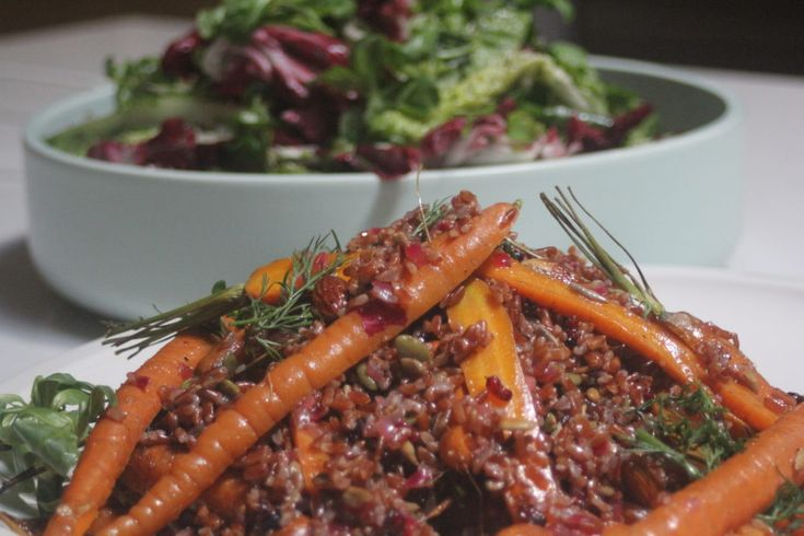 Nowruz – Persian new year and a nourishing red rice salad