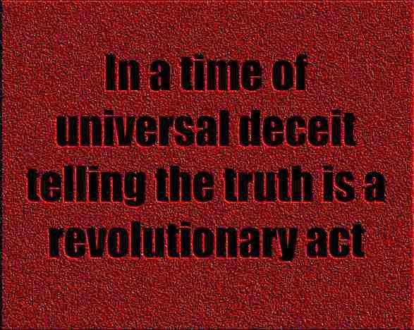 Truthtelling....