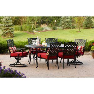Better Homes And Gardens Fairglen 7 Piece Patio Dining Set