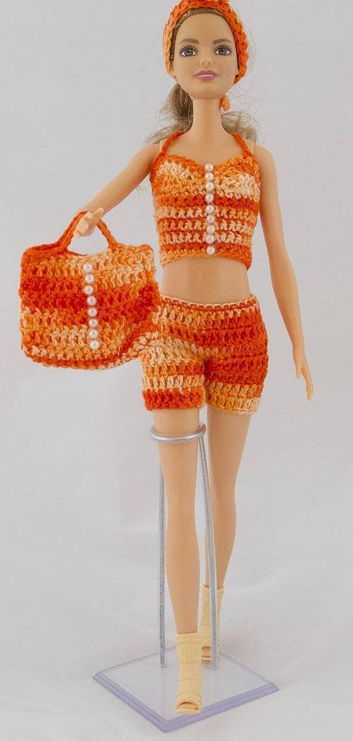 27 Free Crochet Barbie Clothing Model Ideas With You Colorize Your Toys! – Page 15 of 27