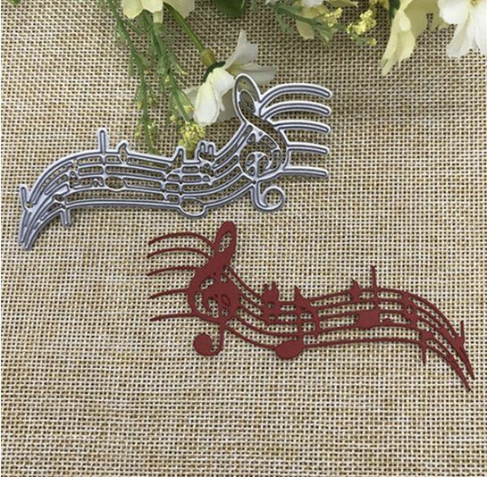 Musical Notes Cutting Dies Stencil DIY Scrapbooking Embossing Album Paper Craft