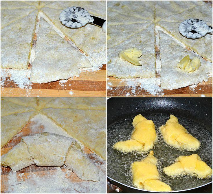 CORNETTI DI PATATE ripieni al formaggio ricetta golosa, gli UNICI E ORIGINALI, una ricetta facile e veloce, un impasto morbido a base di patate