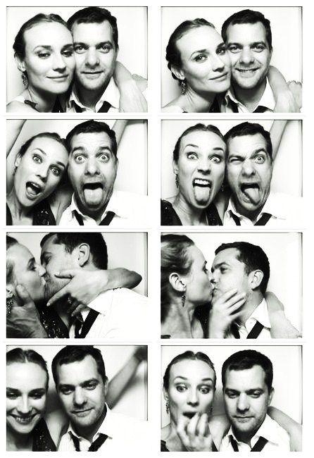 Diana Kruger and Joshua Jackson. Cuties