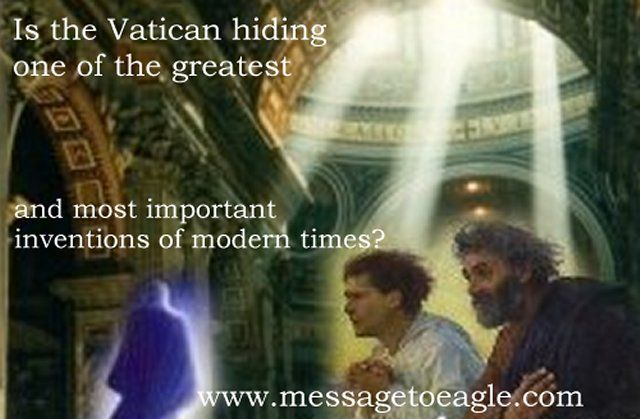 Secret Cosmic Library - Is the Vatican hiding one of the most important inventions of modern times? -