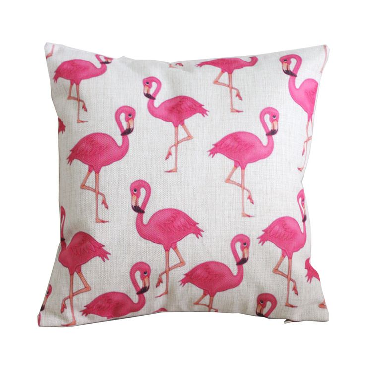 Vintage linnen kussen kussenhoes gooi decoratieve kussenhoezen 45 cm 45 cm roze flamingo kussen in  Vintage linnen kussen kussensloop gooien decoratieve kussenhoezen 45cm* 45cm roze flamingo kussensloop  &nb van kussenhoes op AliExpress.com | Alibaba Groep