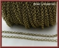 Rolo 4mm Link Bronze Chain