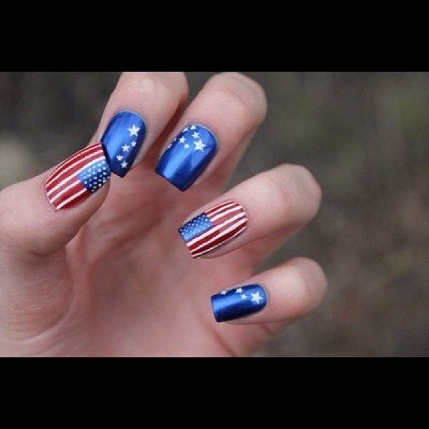 97 Best Images About 4th Of July Nails On Pinterest