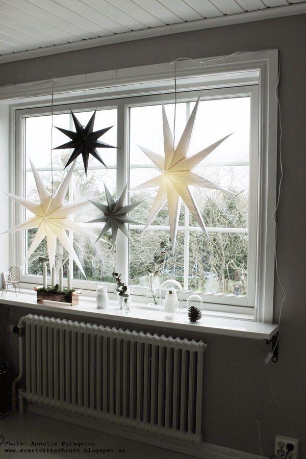 advent, adventsstjärna, housedoctor, stjärnor i fönstret, arbetsrum, ateljé, julen 2014, julpynt, juldekoration, juldekorationer,