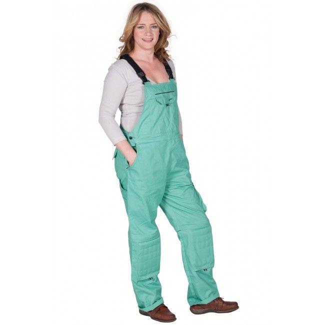 Rosies - Snekkerbukser for damer - Grønn