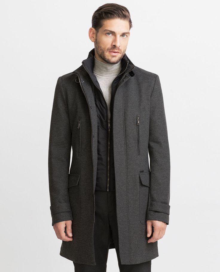 DIAGONAL COAT-View all-Outerwear-MAN   ZARA United States