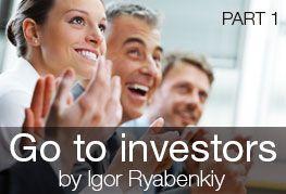 "Micro-course ""Go to investors by Igor Ryabenkiy. Part 1"" by Igor Ryabenkiy https://coursmos.com/course/go-to-investors-by-igor-ryabenkiy-part-1 #Startups @Coursmos Courses"