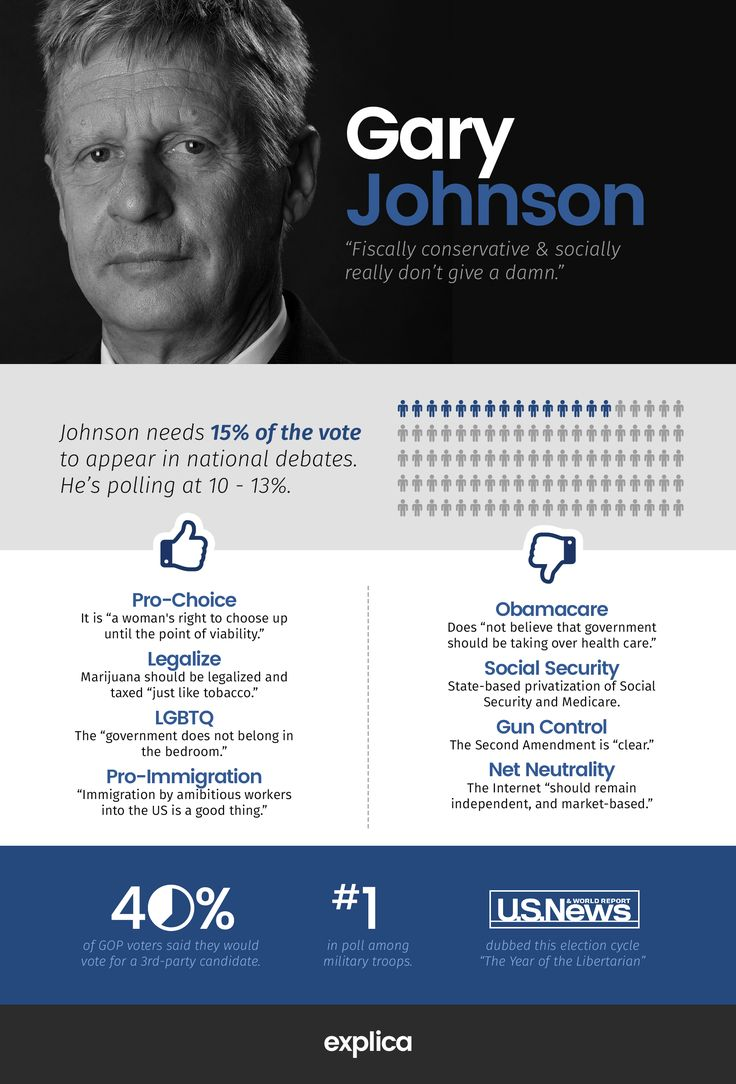 (Infographic): Gary Johnson