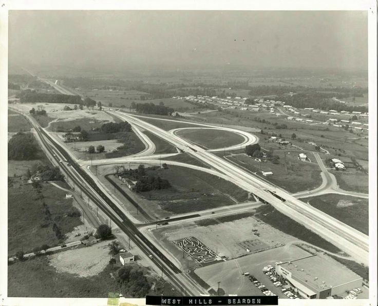 I40 at west hills knoxville tn circa 1959 tn 1950s