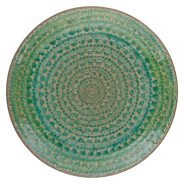 SINTRA Green side plate D21cm   Buy now at Habitat UK